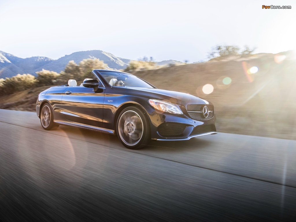 Images of Mercedes-AMG C 43 4MATIC Cabriolet North America (A205) 2016 (1024 x 768)