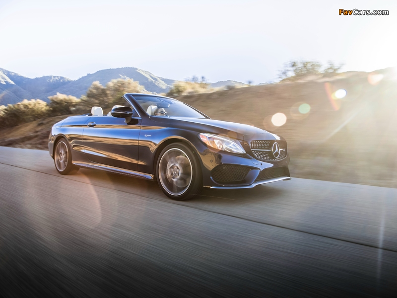 Images of Mercedes-AMG C 43 4MATIC Cabriolet North America (A205) 2016 (800 x 600)