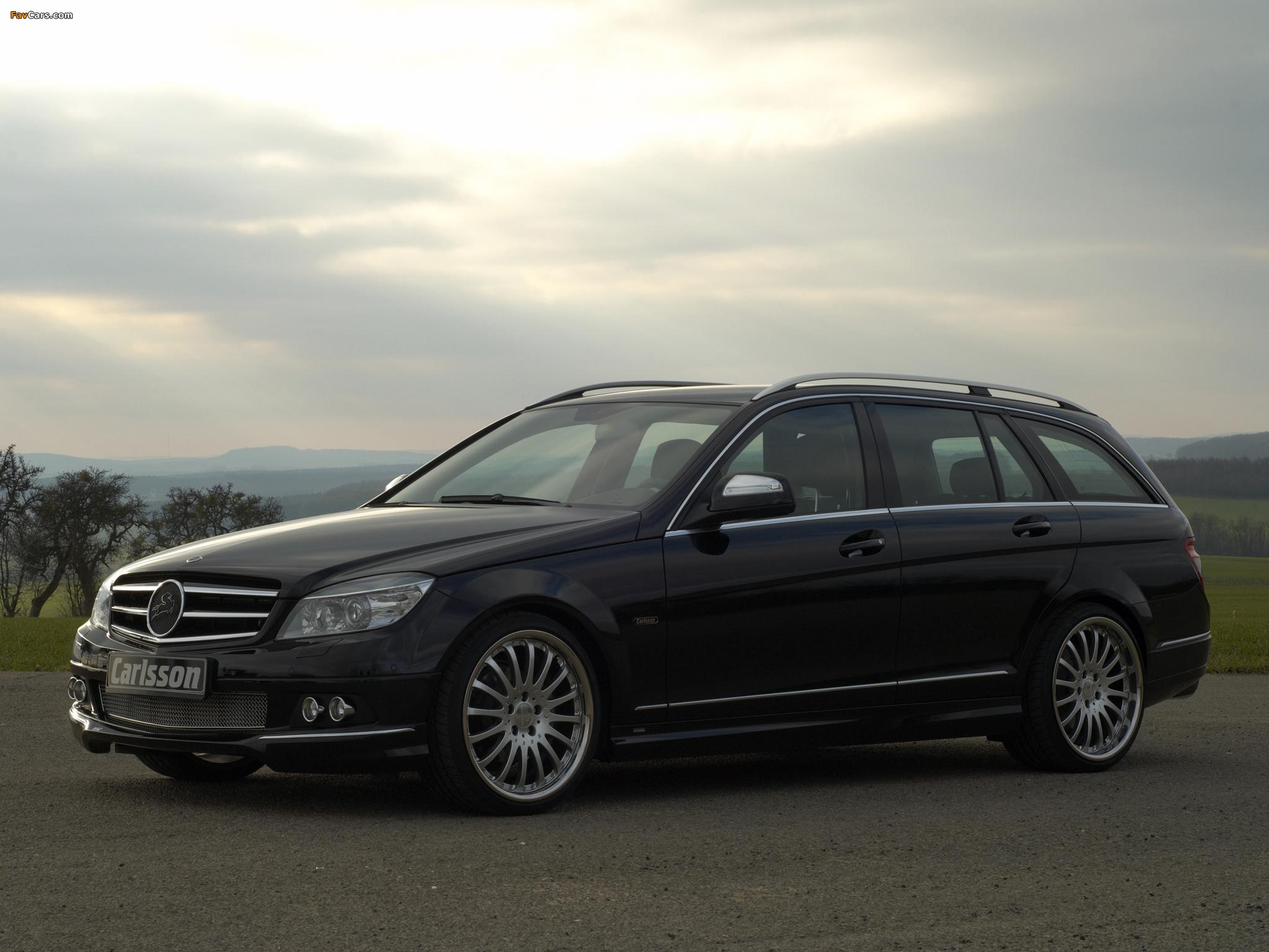 Images of Carlsson Mercedes-Benz C-Klasse Estate (S204) 2008 (2048 x 1536)