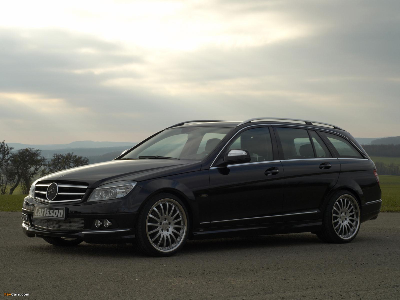 Images of Carlsson Mercedes-Benz C-Klasse Estate (S204) 2008 (1600 x 1200)