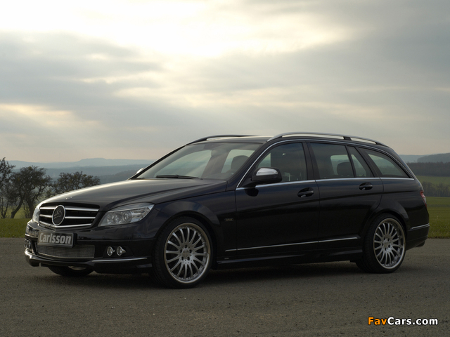 Images of Carlsson Mercedes-Benz C-Klasse Estate (S204) 2008 (640 x 480)