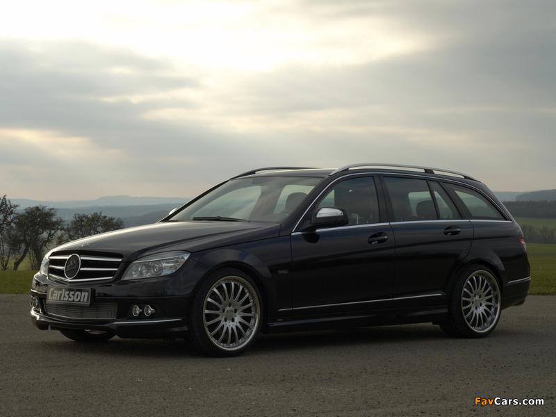 Images of Carlsson Mercedes-Benz C-Klasse Estate (S204) 2008 (800 x 600)