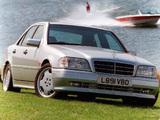 Mercedes-Benz C 36 AMG UK-spec (W202) 1993–97 images