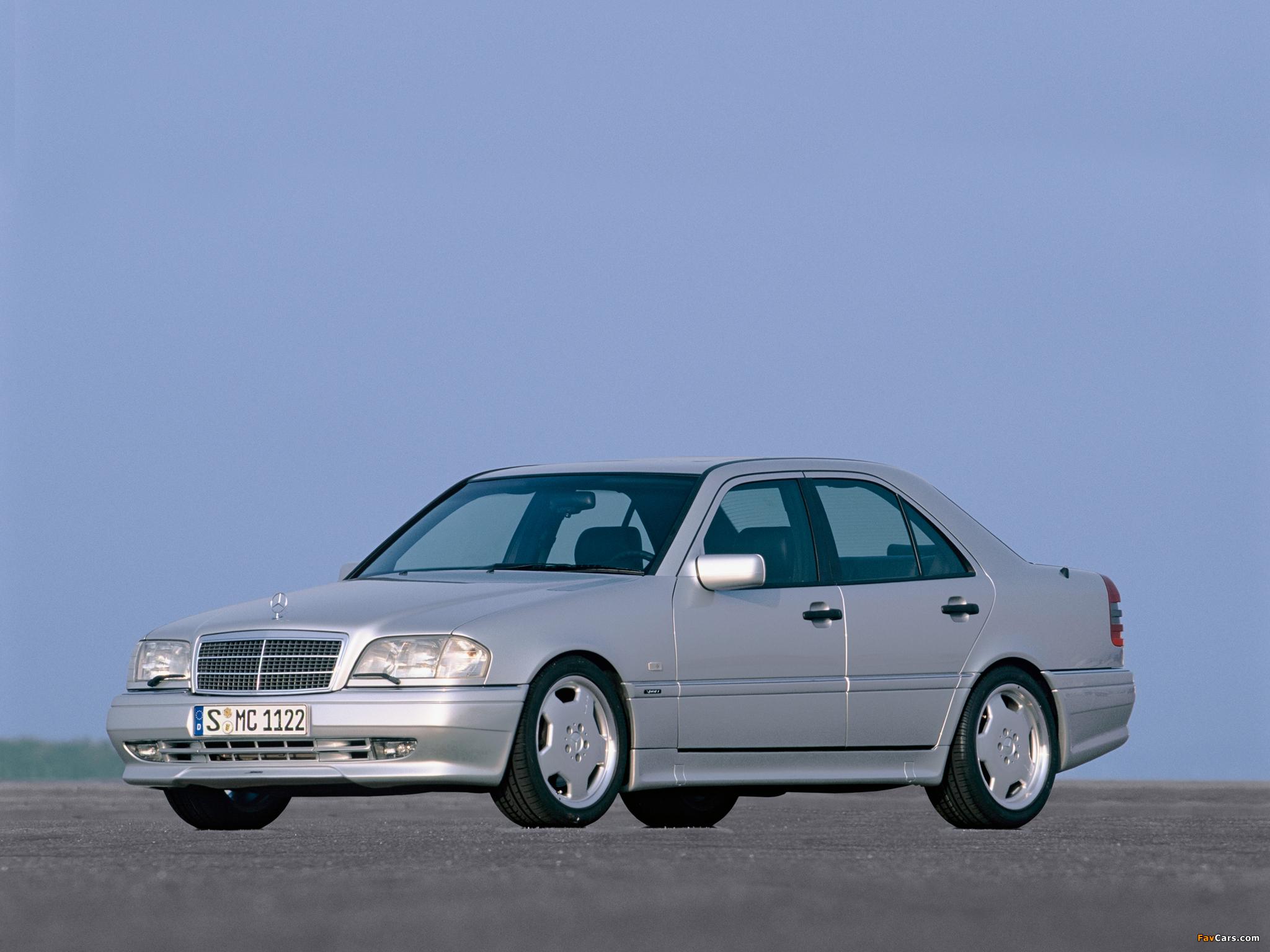 Mercedes-Benz C 36 AMG (W202) 1993–97 photos (2048 x 1536)