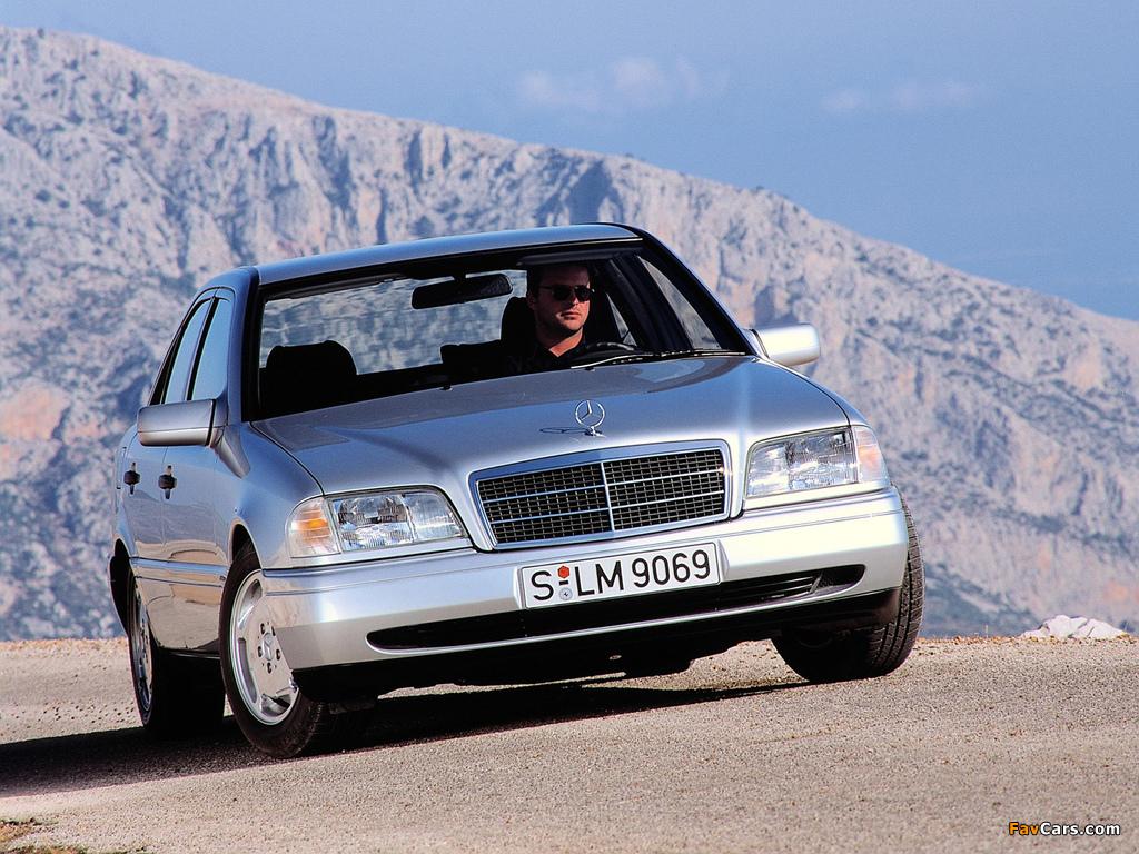 Mercedes-Benz C 280 (W202) 1993–97 pictures (1024 x 768)