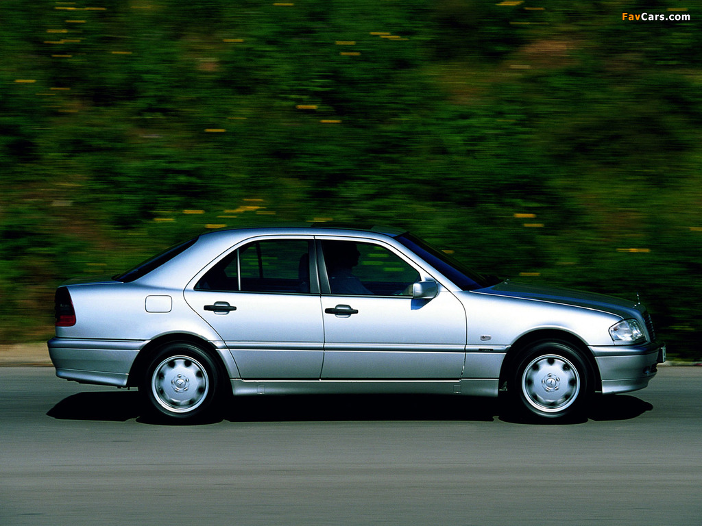 Mercedes-Benz C 250 Turbodiesel (W202) 1995–2000 wallpapers (1024 x 768)
