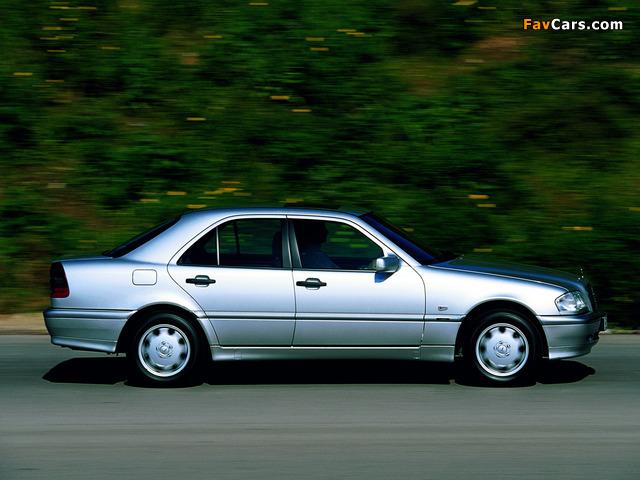 Mercedes-Benz C 250 Turbodiesel (W202) 1995–2000 wallpapers (640 x 480)