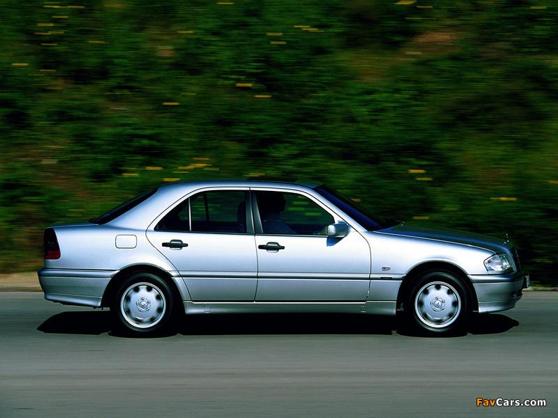 Mercedes-Benz C 250 Turbodiesel (W202) 1995–2000 wallpapers (800 x 600)