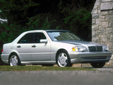 Mercedes-Benz C 43 AMG US-spec (W202) 1997–2000 photos