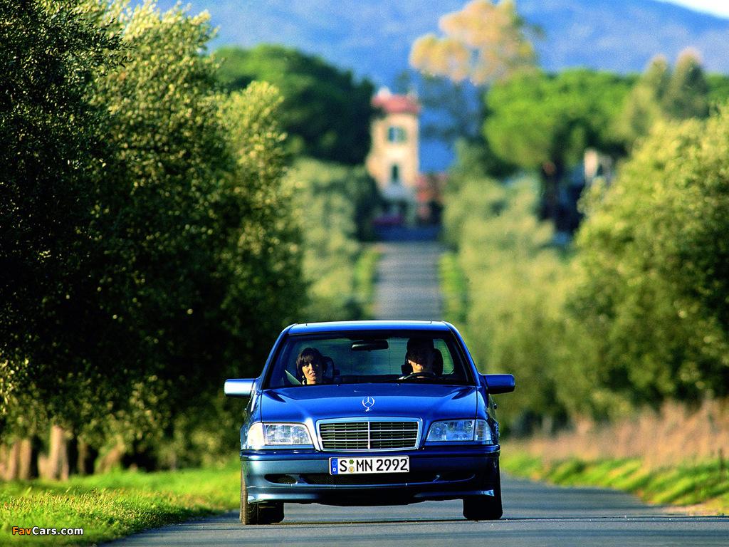 Mercedes-Benz C 230 Kompressor (W202) 1997–2000 pictures (1024 x 768)
