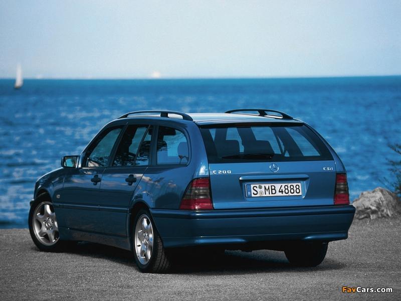 Mercedes-Benz C 200 CDI Estate (S202) 1998–2001 pictures (800 x 600)