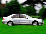 Mercedes-Benz C 320 UK-spec (W203) 2000–05 images
