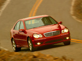 Mercedes-Benz C 320 US-spec (W203) 2000–05 pictures