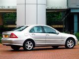 Mercedes-Benz C 320 UK-spec (W203) 2000–05 pictures