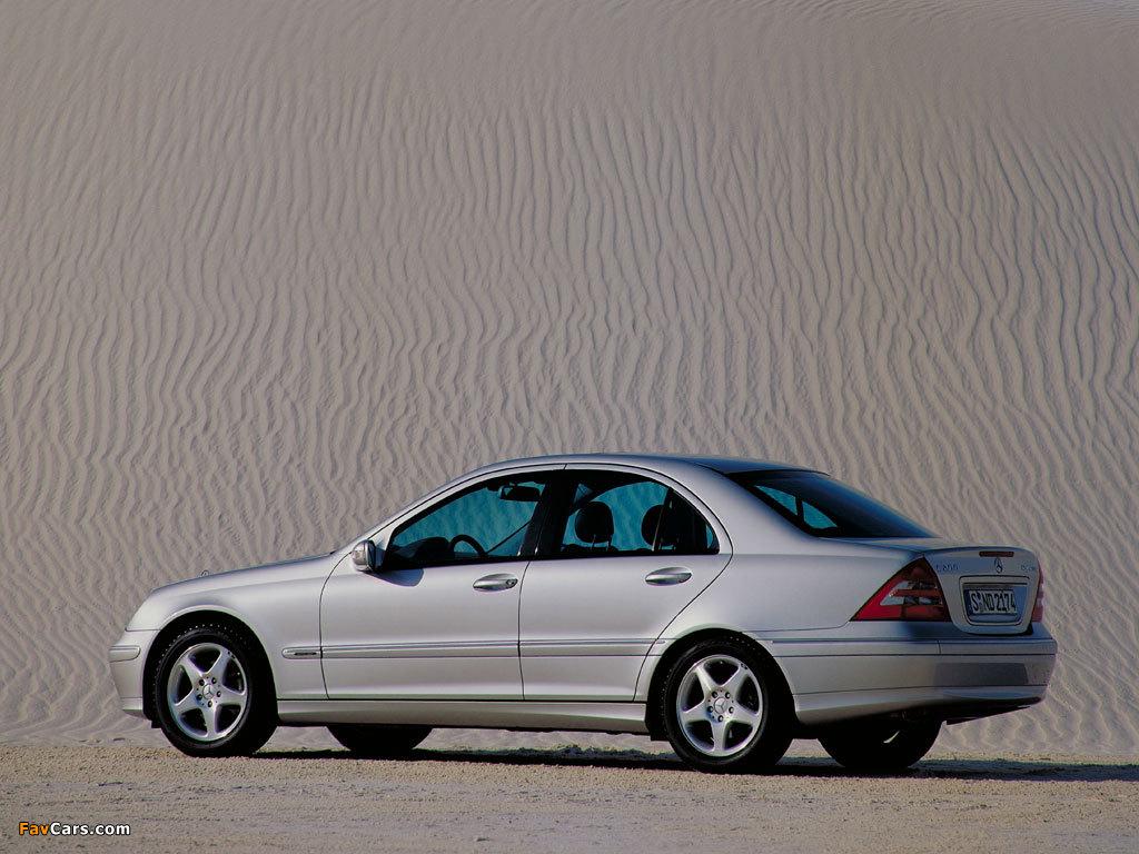 Mercedes-Benz C 270 CDI (W203) 2000–05 wallpapers (1024 x 768)