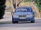 Mercedes-Benz C 180 (W203) 2000–02 wallpapers
