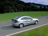 Mercedes-Benz C 220 CDI Sportcoupe (C203) 2001–05 images