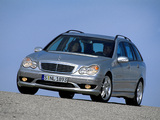 Mercedes-Benz C 32 AMG Estate (S203) 2001–04 images