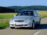 Mercedes-Benz C 200 Kompressor Sportcoupe (C203) 2001–05 photos