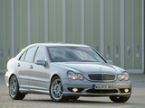 Mercedes-Benz C 32 AMG (W203) 2001–04 photos