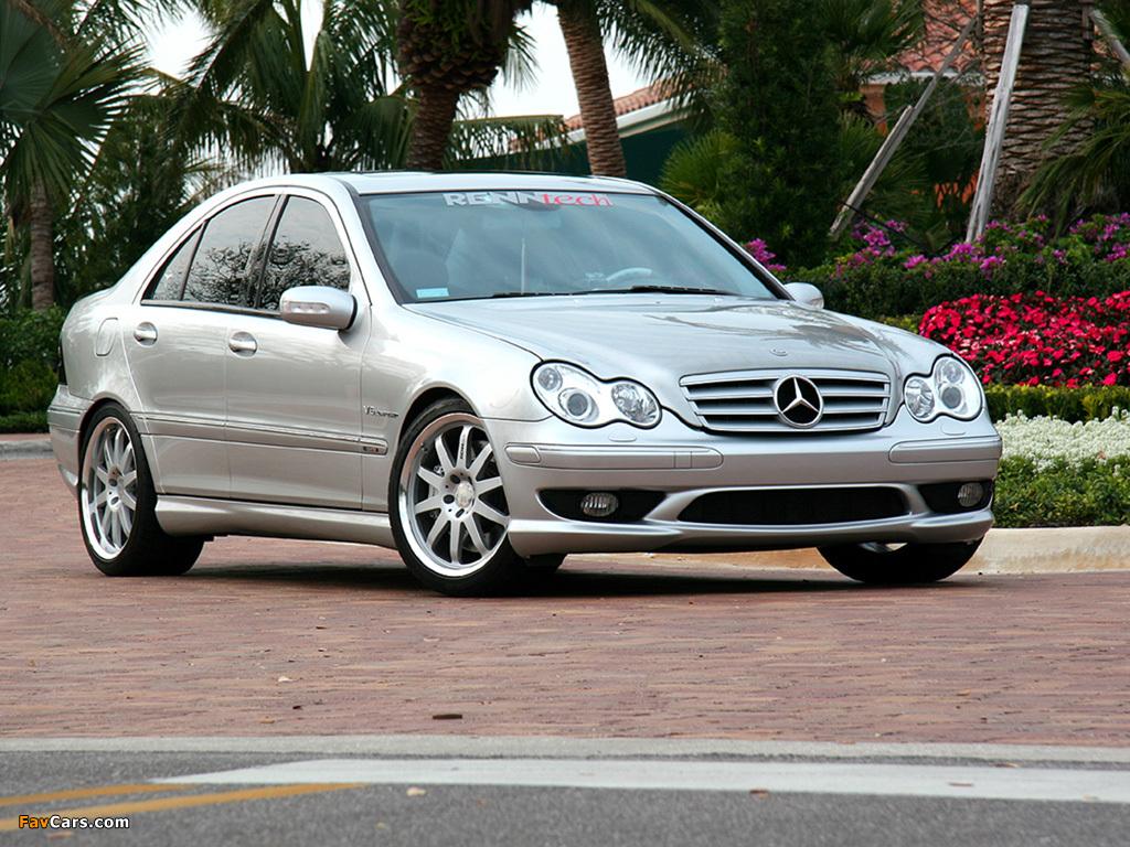 Renntech Mercedes-Benz C 32 AMG (W203) 2001–04 photos (1024 x 768)