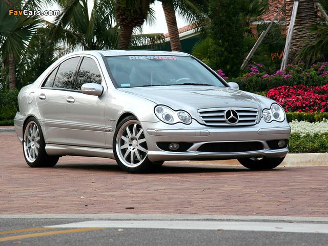 Renntech Mercedes-Benz C 32 AMG (W203) 2001–04 photos (640 x 480)