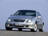 Mercedes-Benz C-Klasse Sportcoupe (C203) 2001–07 photos