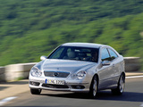 Mercedes-Benz C 230 Kompressor Sportcoupe (C203) 2001–05 photos