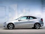 Mercedes-Benz C 230 Kompressor Sportcoupe (C203) 2001–05 pictures