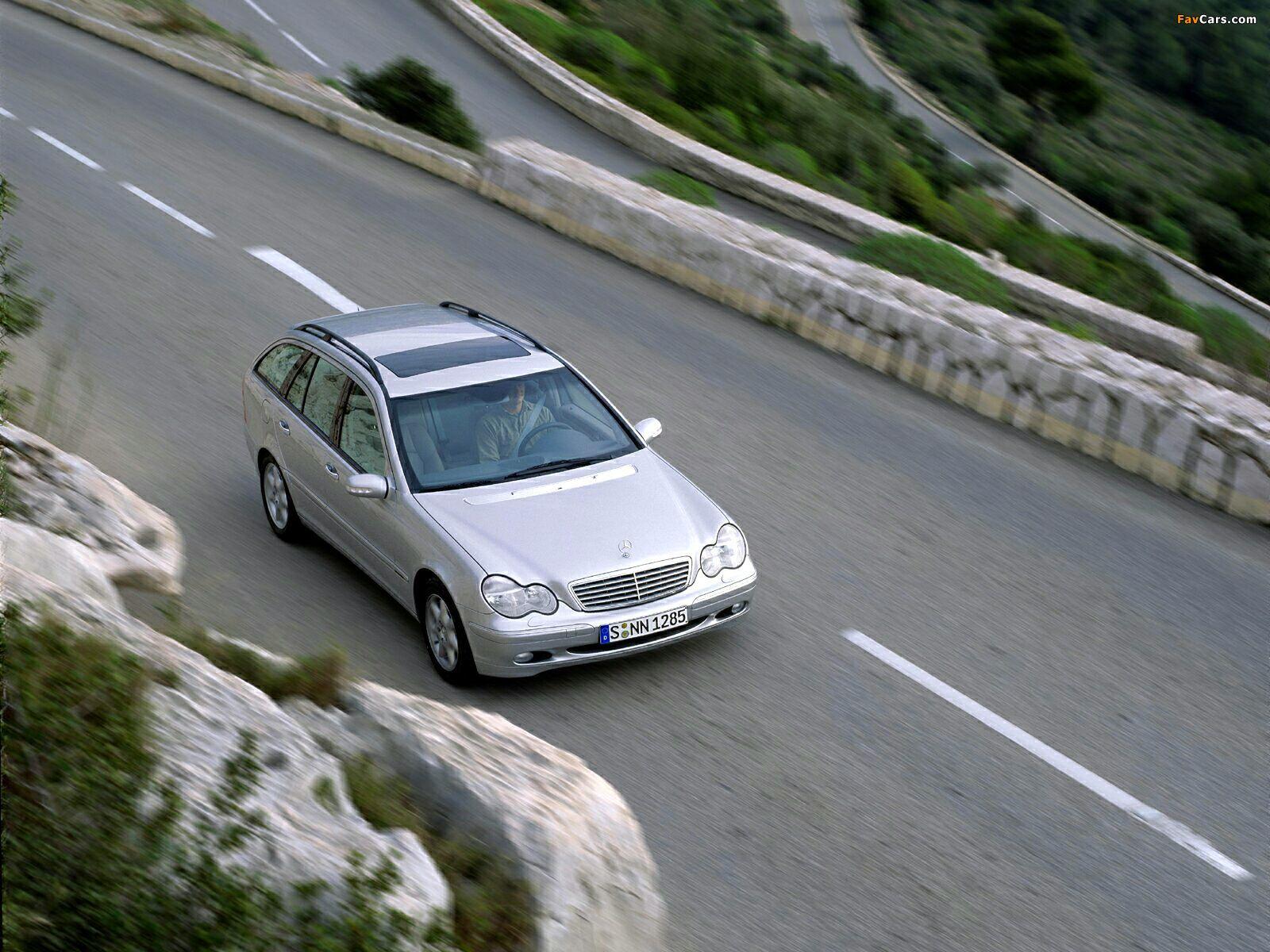 Mercedes-Benz C 270 CDI Estate (S203) 2001–05 pictures (1600 x 1200)