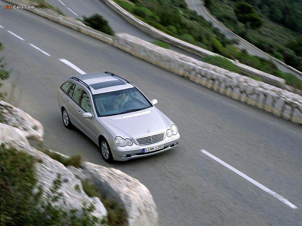 Mercedes-Benz C 270 CDI Estate (S203) 2001–05 pictures (1024 x 768)