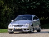 Mercedes-Benz C 30 CDI AMG Sportcoupe (C203) 2002–04 images