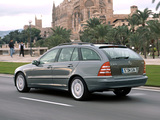 Mercedes-Benz C 320 CDI Estate (S203) 2002–07 images