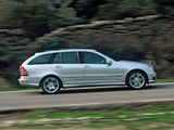 Mercedes-Benz C 320 CDI Sport Edition Estate (S203) 2002–07 wallpapers