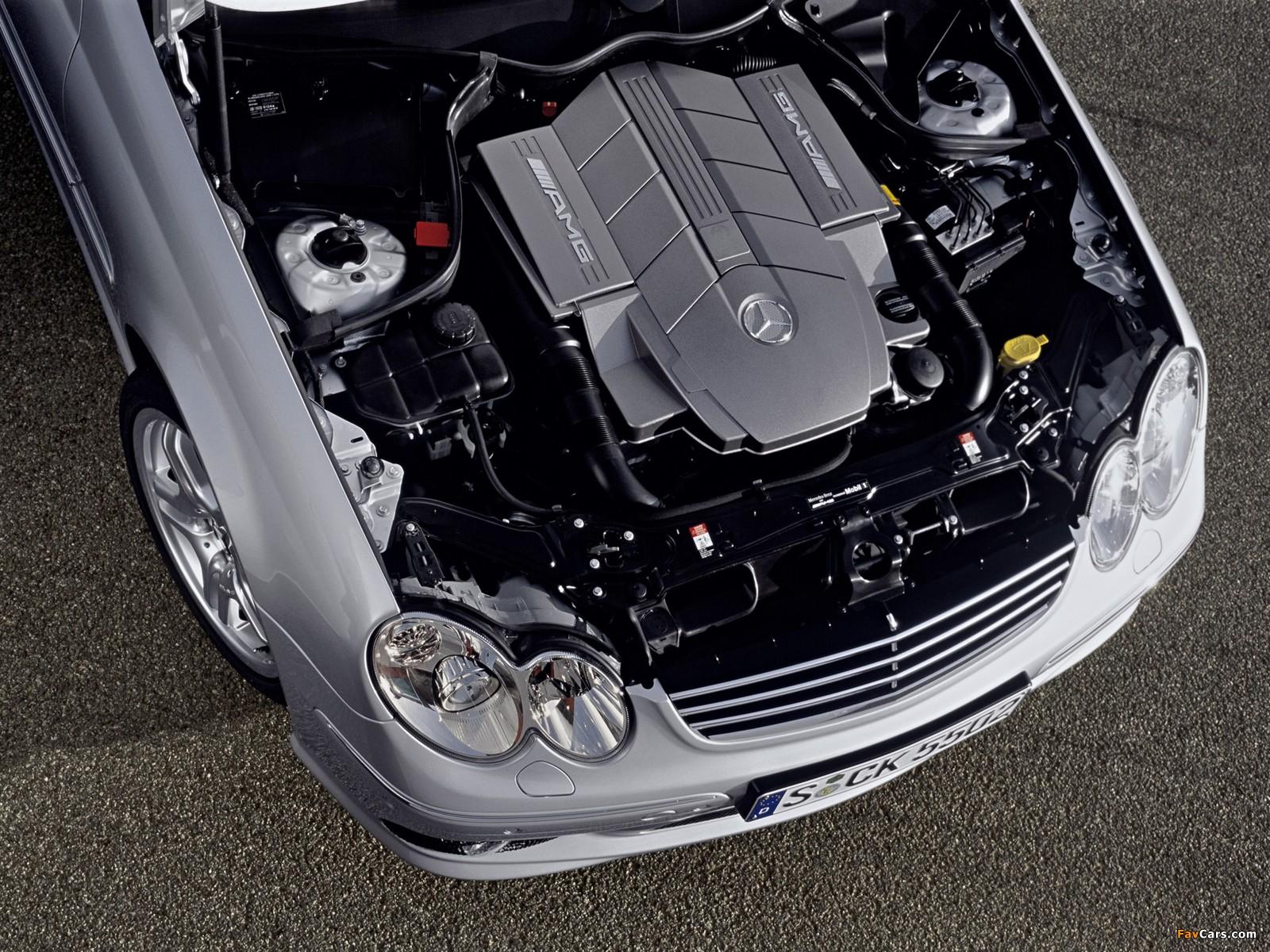 Mercedes-Benz C 55 AMG (W203) 2004–07 photos (1600 x 1200)