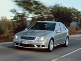 Mercedes-Benz C 55 AMG (W203) 2004–07 pictures