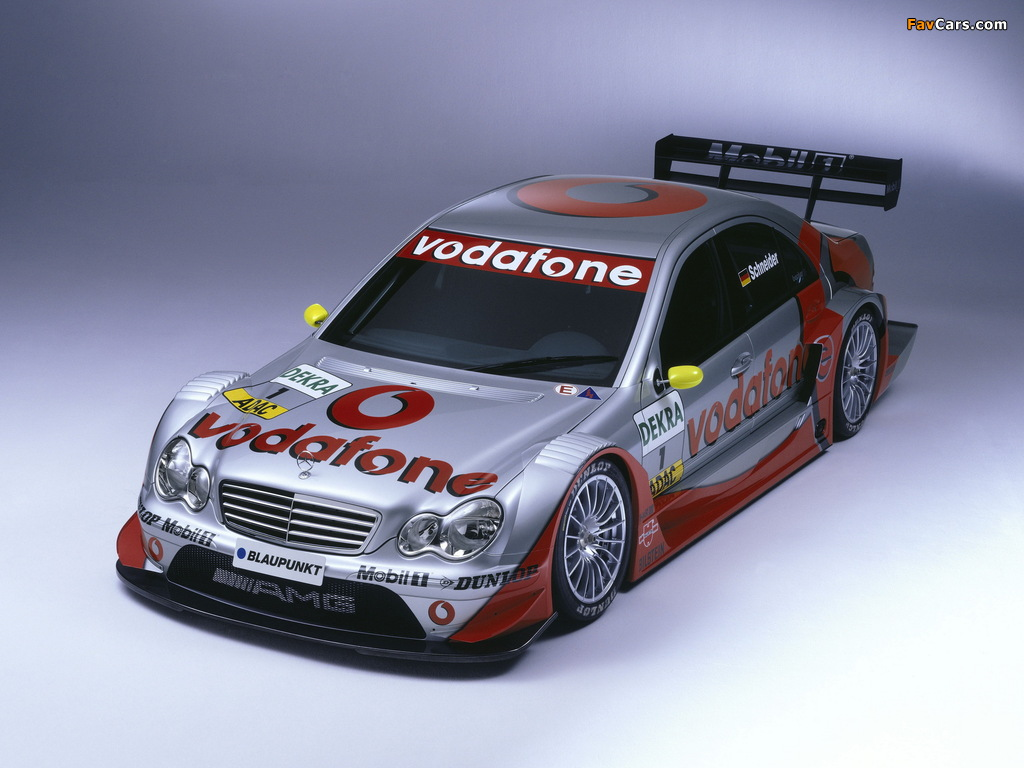 Mercedes-Benz C AMG DTM (W203) 2004–07 pictures (1024 x 768)
