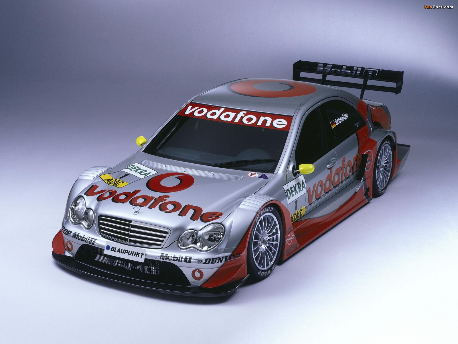 Mercedes-Benz C AMG DTM (W203) 2004–07 pictures (1600 x 1200)