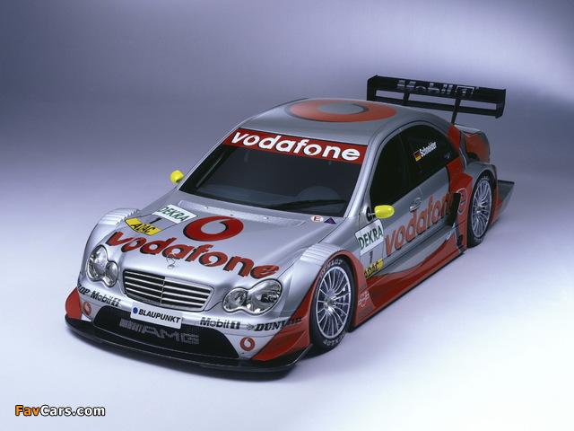 Mercedes-Benz C AMG DTM (W203) 2004–07 pictures (640 x 480)