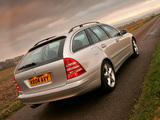 Mercedes-Benz C 230 Estate UK-spec (S203) 2005–07 images