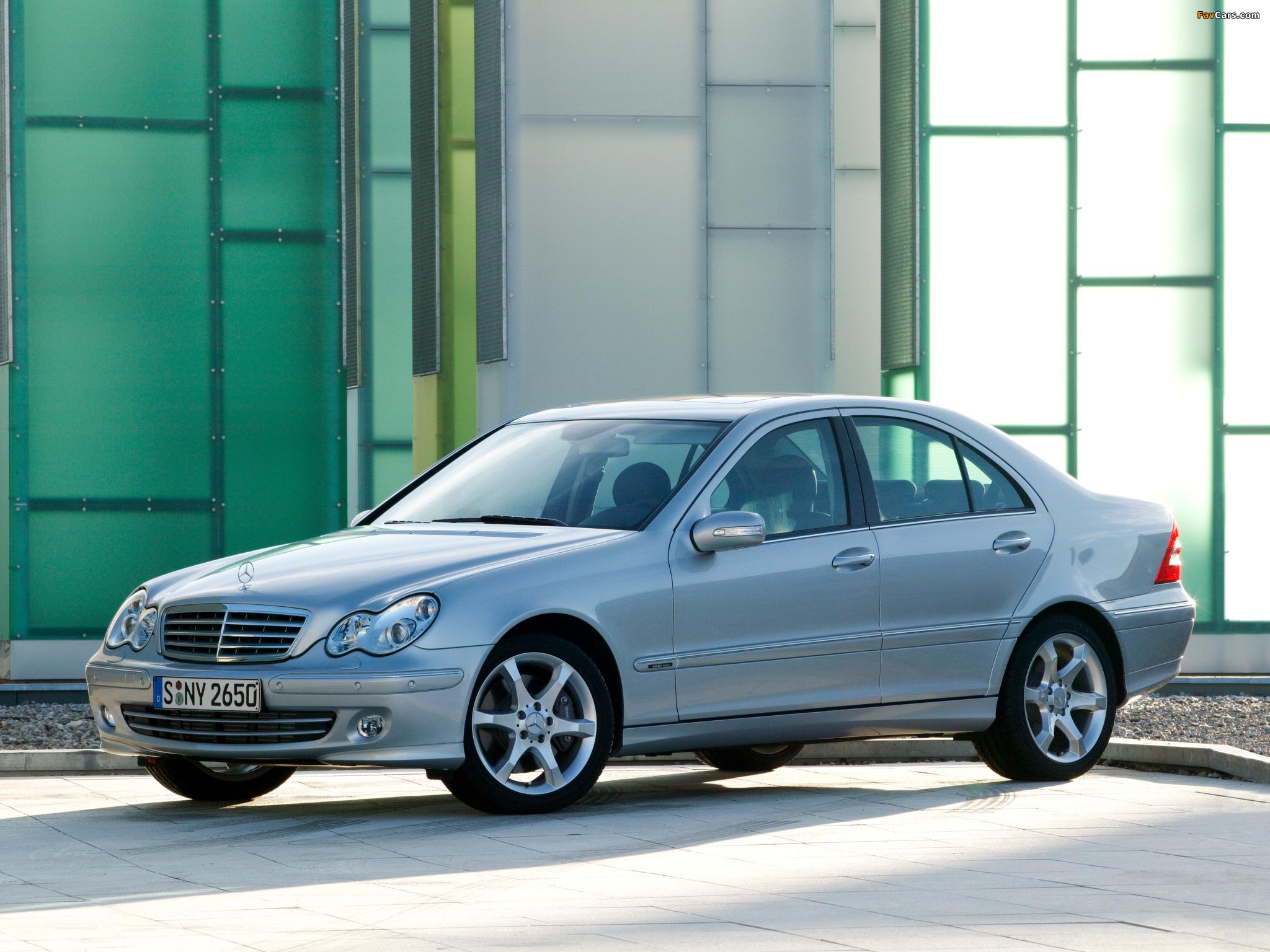 Mercedes-Benz C 320 CDI (W203) 2005–07 images (2048 x 1536)