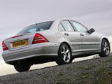 Mercedes-Benz C 320 UK-spec (W203) 2005–07 photos