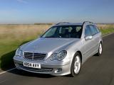 Mercedes-Benz C 230 Estate UK-spec (S203) 2005–07 photos