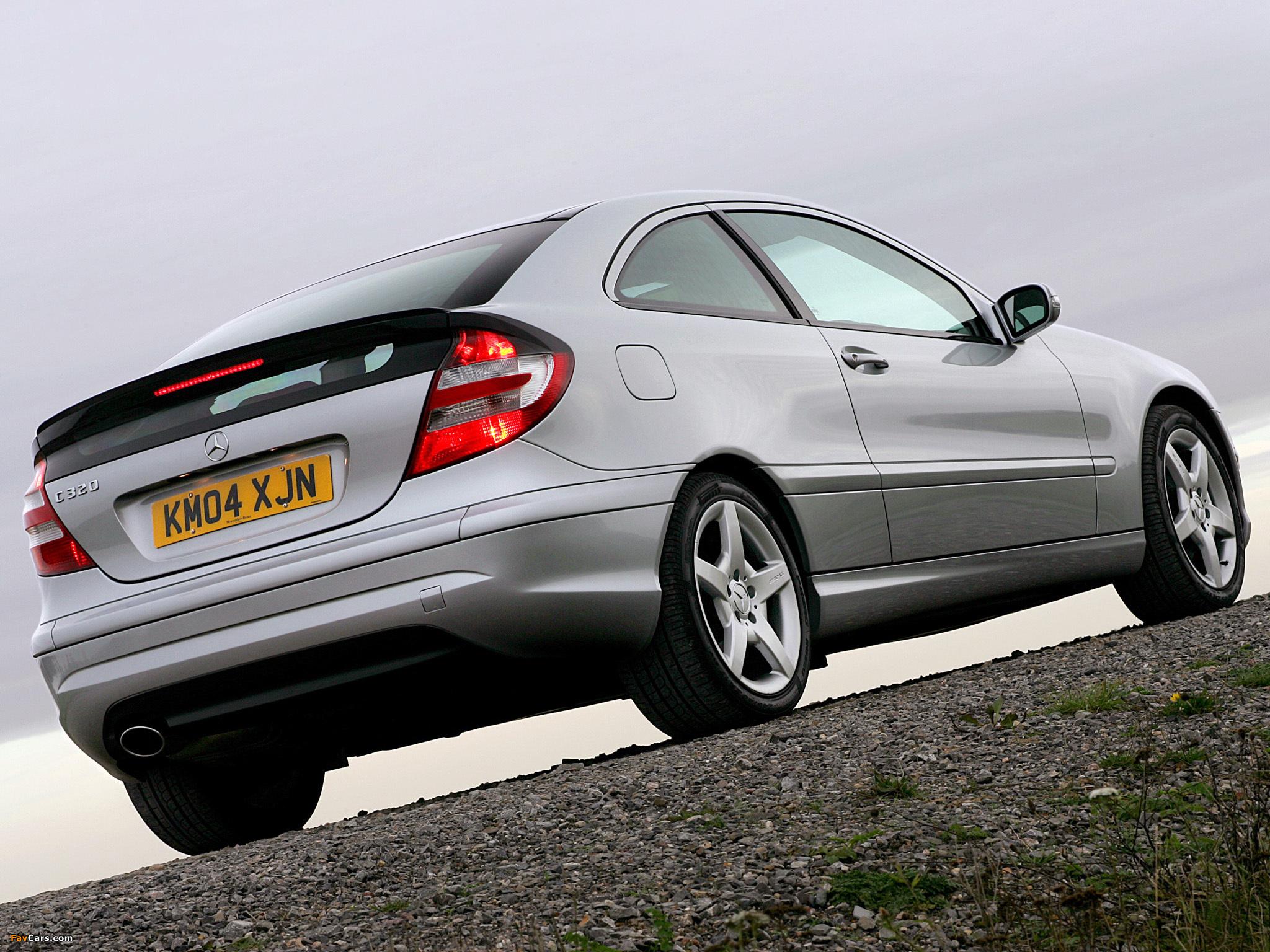 Mercedes-Benz C 320 Sportcoupe UK-spec (C203) 2005–07 pictures (2048 x 1536)