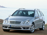 Mercedes-Benz C 350 Sport Edition Estate (S203) 2005–07 pictures