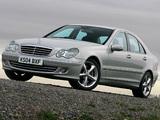 Mercedes-Benz C 320 UK-spec (W203) 2005–07 pictures