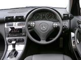 Mercedes-Benz C 320 UK-spec (W203) 2005–07 wallpapers