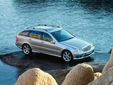 Mercedes-Benz C 350 Sport Edition Estate (S203) 2005–07 wallpapers