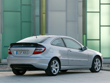 Mercedes-Benz C 350 Sportcoupe (C203) 2005–07 wallpapers