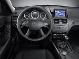 Mercedes-Benz C 180 (W204) 2007–11 images